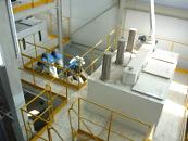 Блок бункеров исходных зерновых компонентов