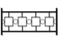 Секция сварного газонного ограждения ГО-1