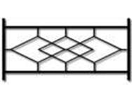 Секция сварного газонного ограждения ГО-8