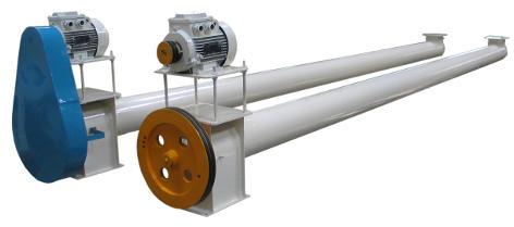 Конвейер винтовой (шнек) Р1-БШК предназначен для перемещения зерна в горизонтальном направлении.