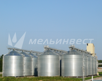 The Belgorod Region, Grain Storage with the capacity 58500 m3