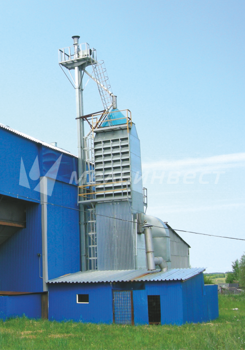 The Nizhny Novgorod  Region, Grain Drier model Astra