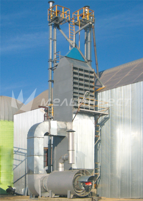 The Krasnodarsky Region, Grain Drier model Astra