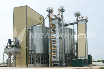 The Belgorod Region, Grain Dryer Vesta with the capacity of 50t/h