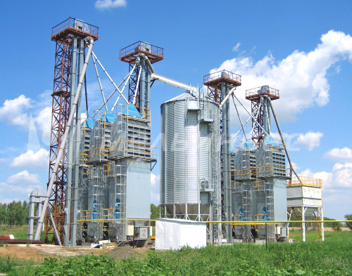 The Ulyanovsk Region, Grain Drier Facility, Grain Drier model Astra