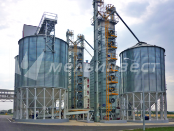 The Belgorod region, Grain Drier model Vesta with the capacity of 50 t/h